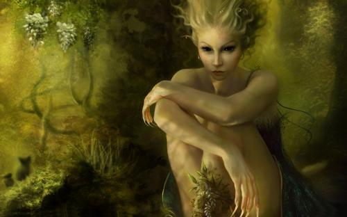 Deep Eyes, Green Witches
