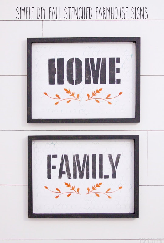Simple-DIY-Fall-Stenciled-Farmhouse-Signs