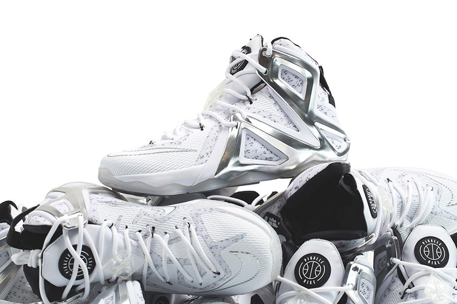LeBron James Debuts Pigalle x NikeLab LeBron 12 Elite ... 0434e359edf4