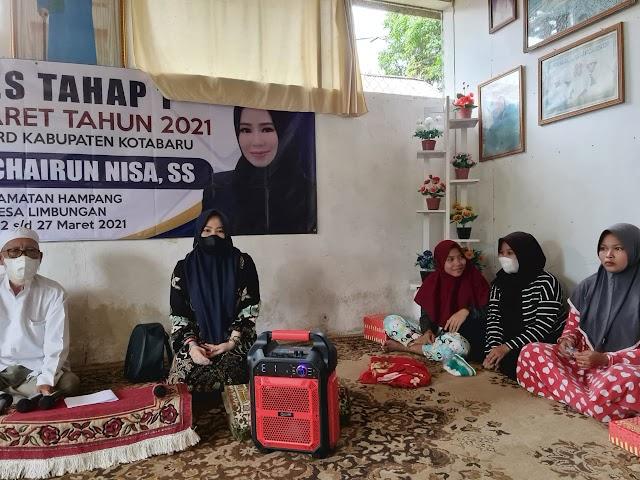Reses Dapil IV, Legislator Kotabaru Ini Kunjungi 6 Desa