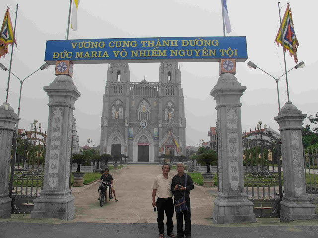 HĐGDĐMVN hành hương về nguồn: Quần Phương, Quần Cống, Phú Nhai