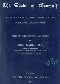 Cover of John Earle's Book The Deeds of Beowulf