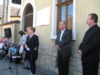 Dr. Szili Katalin miniszterelnöki megbízott, az Országgyűlés volt elnöke szól Dobos László tisztelőihez.jpg