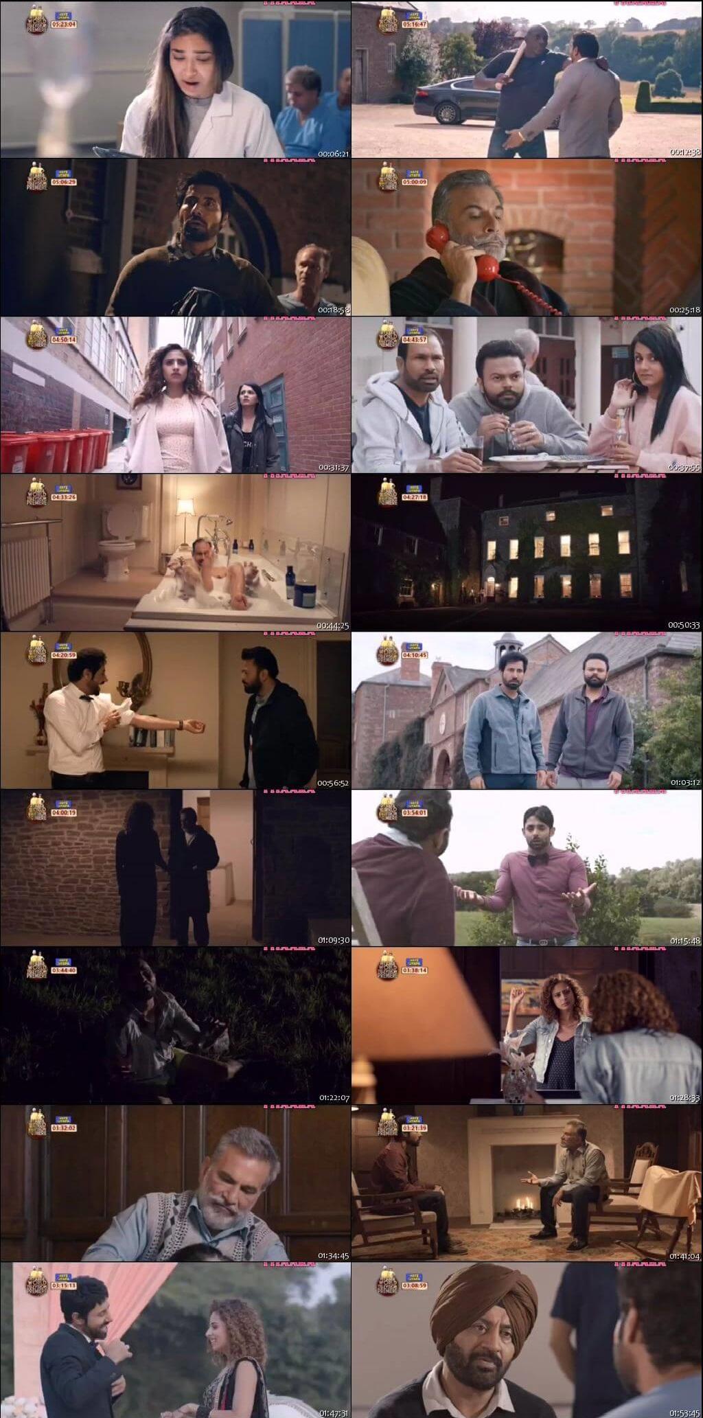 Screen Shot Of Jhalle 2019 300MB HDRip 480P Full Punjabi Movie Watch Online Free Download