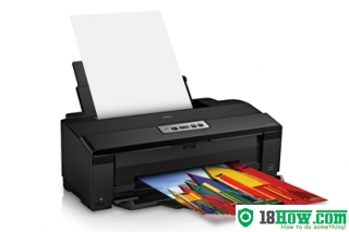 How to reset flashing lights for Epson 1430 printer