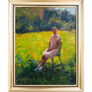 Susan Grisell Signed Oil Painting #1