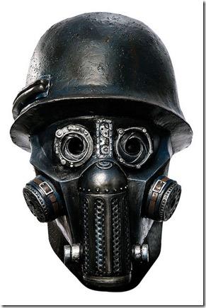 Máscara de gas máscara del zombi