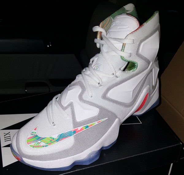 differently c35ff bc9ee Nike Plays it Safe with Nike LeBron 13 for Easter ...