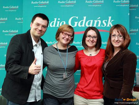 Ruszaj w Drogę i Kochamy Żuławy w Radio Gdańsk