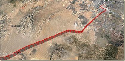 GE Vectoring Départ McCarran Las Vegas