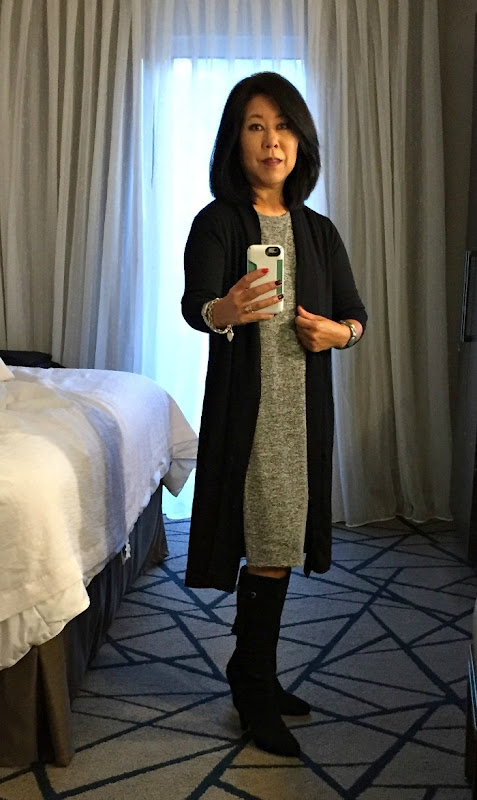 What I Wore Business Travel 2