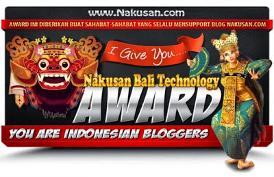 Nakusan Bali Technology Award