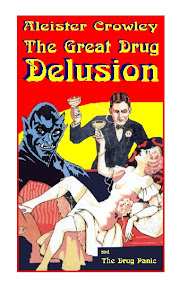 Cover of Aleister Crowley's Book Great Drug Delusion