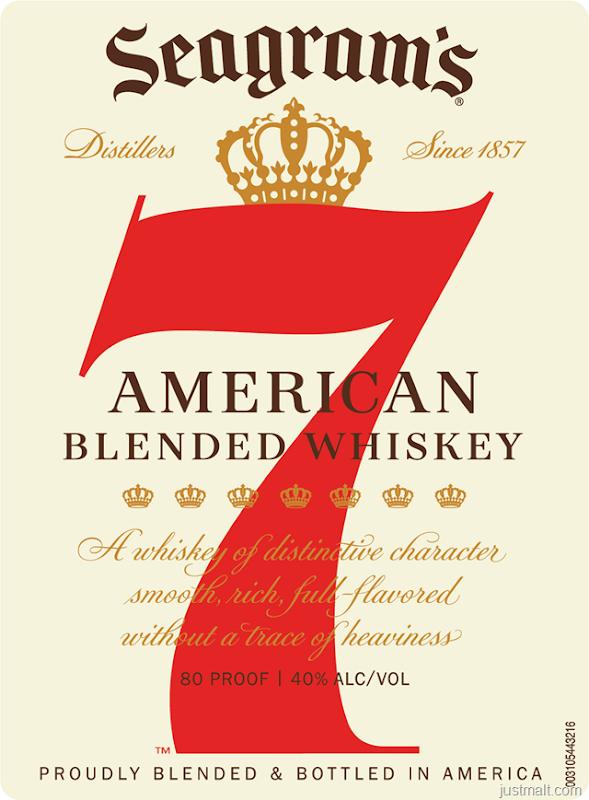 Seagrams - 7 Crown American Blended Whiskey