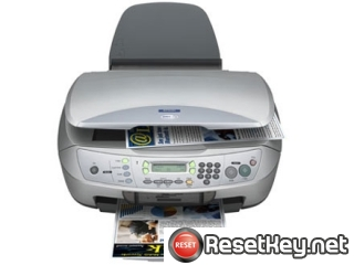 Epson CX6500 Waste Ink Counter Reset Key