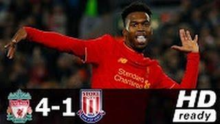Liverpool vs Stoke City Match Highlight