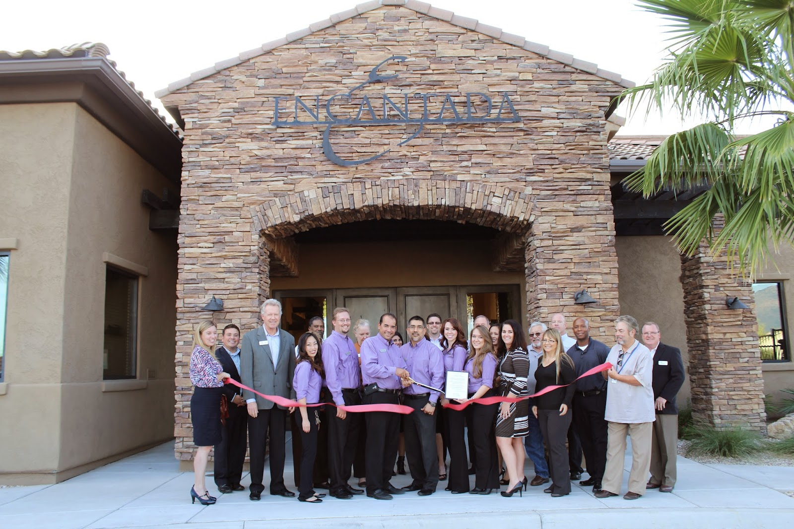 Thank you for helping us to commemorate the three year anniversary of Encantada at Riverside Crossing.