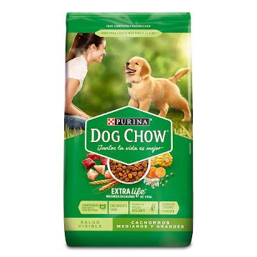 Comida para Mascotas Dog   Chow Cachorros Cachorros x2Kg.