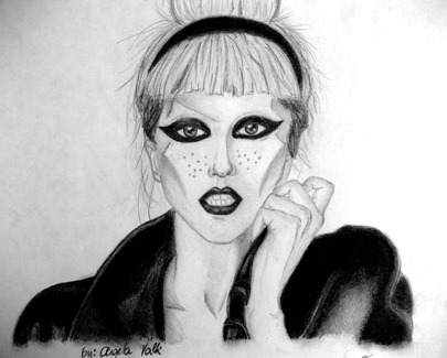 lady_gaga_drawing_by_bluepencils-d4rn42d