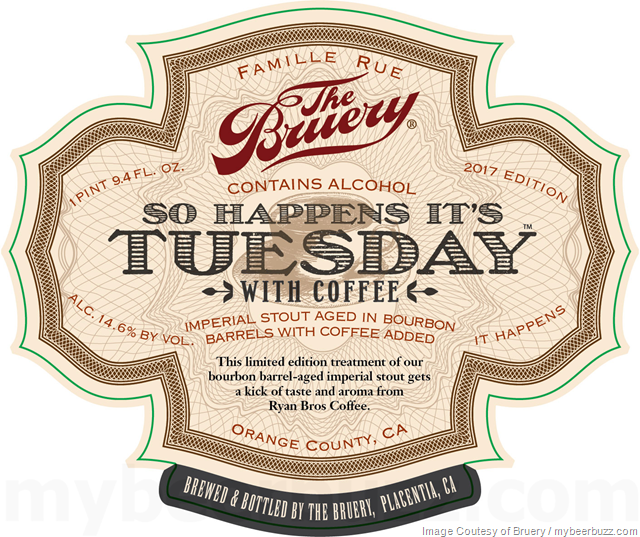 The Bruery - So Happens It' Tuesday With Coffee