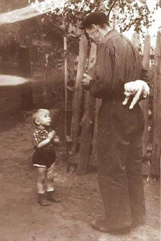 a few seconds before hapiness 1955