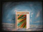 n. 11 Avanti! la porta è aperta - (acrilico su tela) cm 70x50