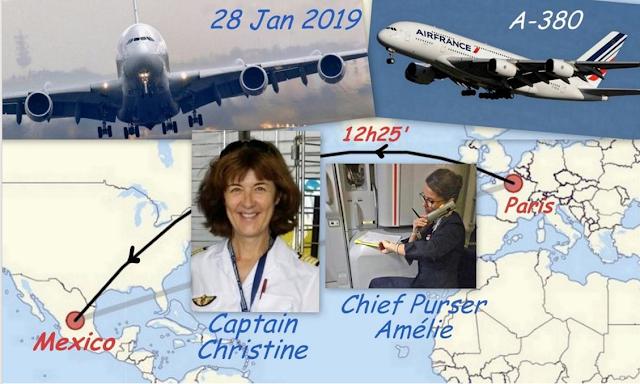 Christine Debouzy pilote A380