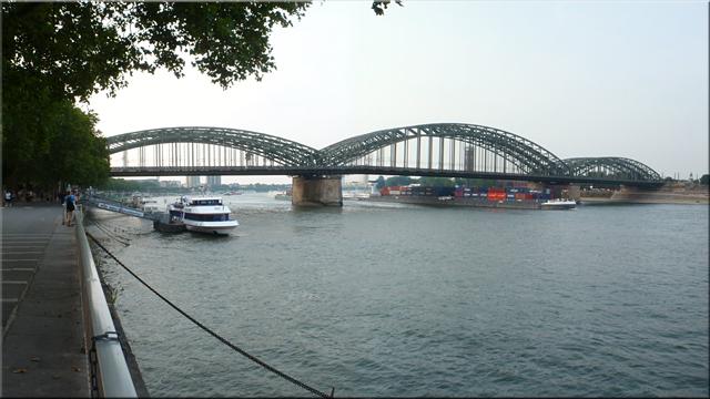Puente Hohenzollern (Hohenzollernbrücke)