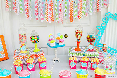 Candy Bar ideas.
