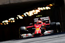 Kimi Raikkonen comes out of the tunnel