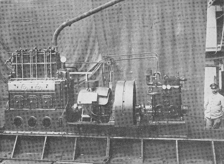 10- CIUDAD DE IBIZA. Grupo Dinamo Compresor. Revista de Ingenieria Naval. Marzo de 1933.jpg