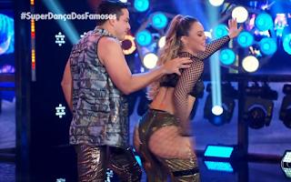 """Carlinhos de Jesus no Super Dança fala sobre o """"bundão de Paolla Oliveira"""""""