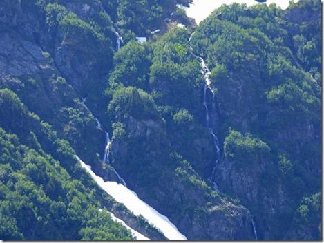 Waterfalls near Exit Glacier, near Seward Alaska