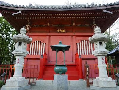 In Sensoji Temple, Asakusa