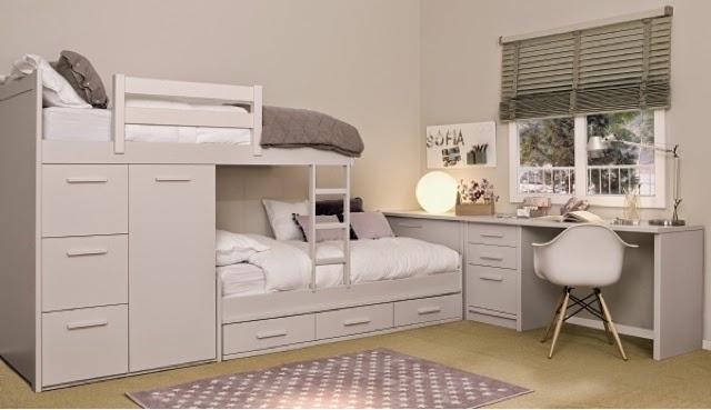 Dormitorios juveniles camas tren - Habitaciones infantiles tren ...