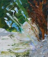 'Aufbrechen aus Stein', Öl auf Leinwand, 50x60, 2005, verkauft