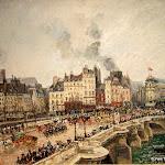 Camille Pissarro - Le Pont-Neuf (1902)