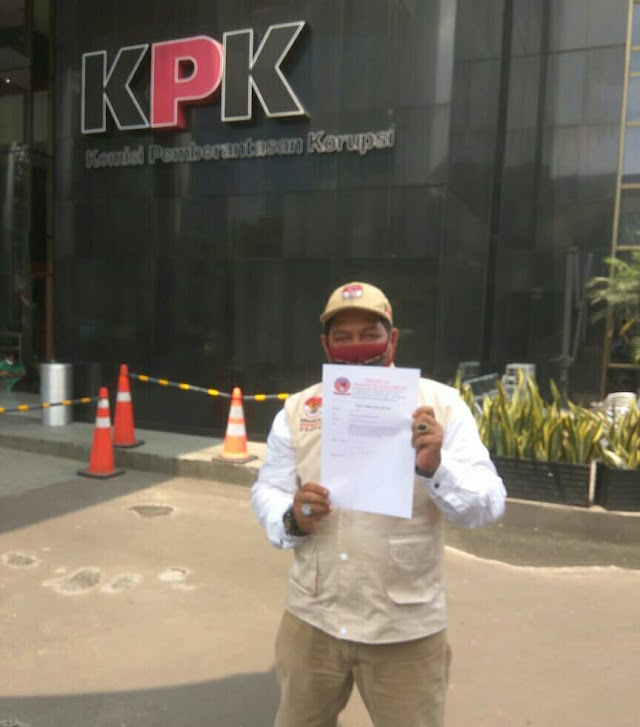 PKN - RI Melaporkan Gubernur Papua Barat Ke KPK.