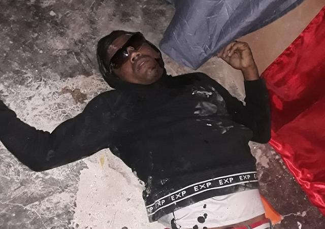 """BARAHONA: Informe Policial sobre la muerte de  un tal  """"MONGOLO""""  y las heridas a un agente y su esposa, en el sector Don Bosco"""