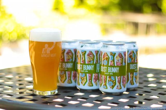 Monday Night Brewing - Dust Bunny Returns 8/20