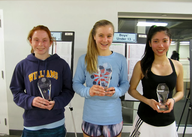 GU 17: Finalist - Melissa Swann (Williamstown, MA); Champion - Caroline Spahr (Boston, MA); 3rd Place - Adrienne Conza (Canton, MA)