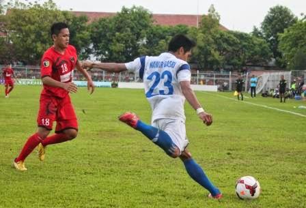 Persinga VS PMFC di Stadion Ketonggo Ngawi dalam laga Kompetisi Divisi Utama PT.Liga Indonesia 2014