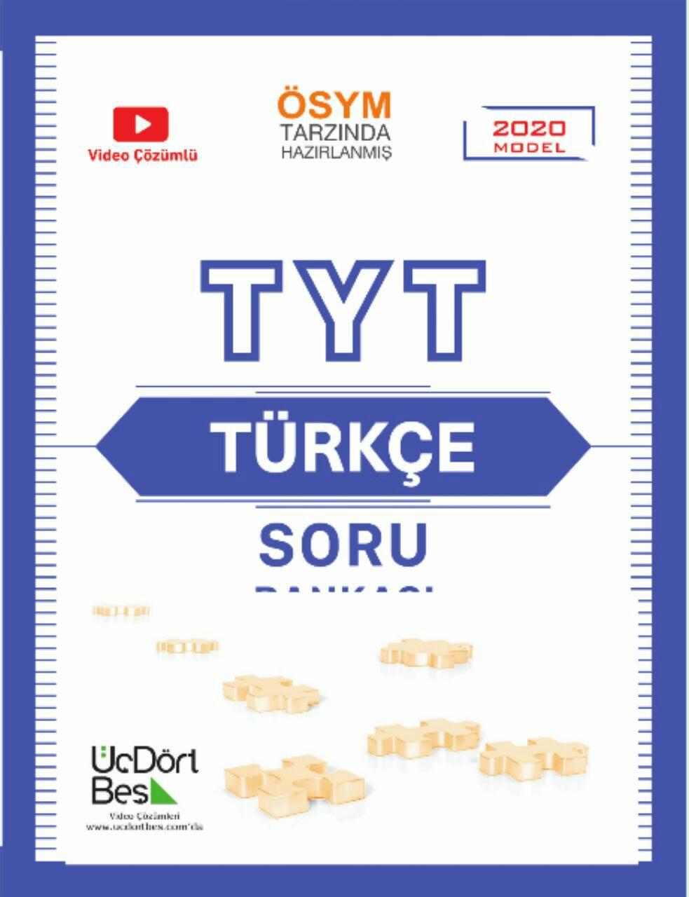 345 Yayınları TYT Türkçe Soru Bankası 2020