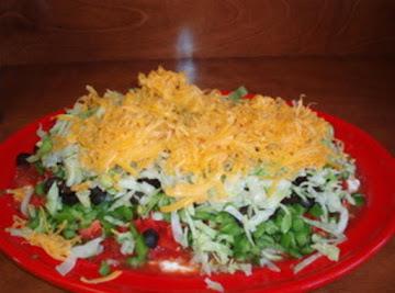 Seven Layer Taco Dip Recipe