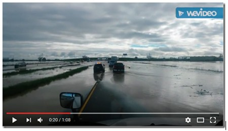I-5 Flooding February 18, 2017