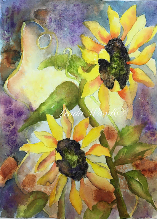 """You Are My Sunshine"" by Leada Wood, Texas Artist"