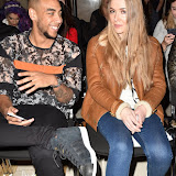 OIC - ENTSIMAGES.COM - Josh Daniel and Beth Sherburn  at the  LFW a/w 2016: Barrus - catwalk show London 19th February 2016 Photo Mobis Photos/OIC 0203 174 1069