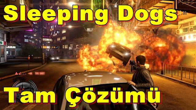 Sleeping Dogs Tam Çözümü(Videolu)