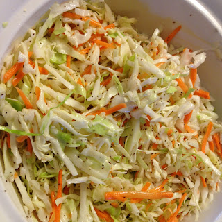 Sweet and Tangy Cole Slaw.