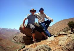 Les Accompagnateurs en Montagne Alvaro et Mohamed